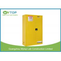 90 Gal Safety Flammable Storage Cabinet / Laboratory Corrosive Storage Cabinets Manufactures