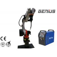 Strong Rigidity Robotic Welding Equipment 6 KVA Robot Power Capacity Manufactures
