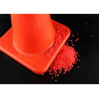 Red Color Plastic PVC Compound PVC Material For Road Cone Good Hardness Manufactures