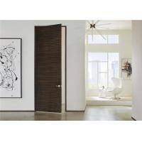 Modern Style Wooden Composite Front Doors Swing Open Eco - Friendly Nature Color Manufactures