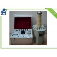 China Manual AC Hipot Testing Equipment With Oil Filled HV Transformer on sale