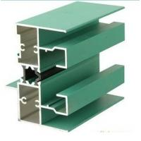 6005 T5 Aluminum Window Extrusion Profiles With Mill Finished / Powder painted / Anodized  Surface Manufactures