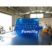 Bule 3M Length Inflatable Aqua Rolling Ball / Human Hamster Walking Roller Manufactures