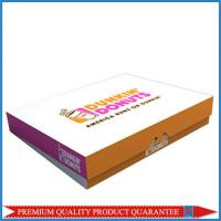 High Quality Food Grade Paper Packaging Box for 12/ 24 Pieces Donuts Manufactures