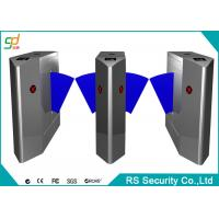 Flexible Automatic Turnstiles Stainless Steel / Intelligent Double Cores Gate Manufactures