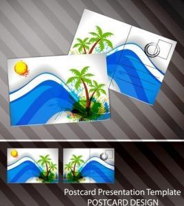 Souvenir scenery lenticular 3D printing postcard 3D flip picture post card price Manufactures