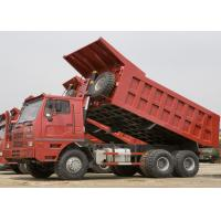 Low Fuel Consumption Heavy Tipper Dump Truck 6×4 , 10 Wheel Dump Truck Manufactures
