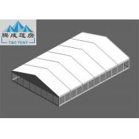20x30m Snowproof Flame Retardant White PVC Aluminium Alloy Tent With Clear / Sandwich Wall For Celebration Manufactures