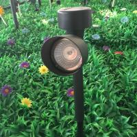 Quality Plastic Mini Solar LED Spotlight 4500K - 5500K With Rechargeable Battery for sale