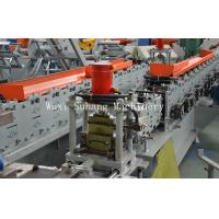 China Automatic Shutter Door Roll Forming Machine 3 Phase GCr15 Roller on sale
