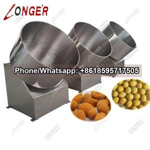 China Auotmatic Peanut Coating Machine Price In Nigeria on sale