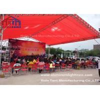 Outside Trade Show Truss Display SystemsStage Lighting Rig TUV Certificated Manufactures