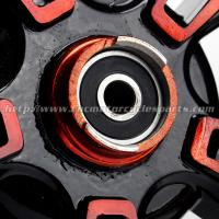 Quality BWS Scooter Parts Motorcycle Front Wheel / Motorbike Wheel Rims for sale