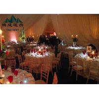 10x30M Wedding Event Tents For Catering Guests Reinforced Aluminium Alloy Frame Manufactures