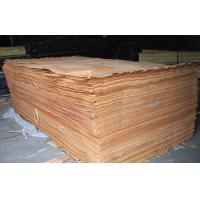 Natural Yellow Okoume Rotary Cutting Wood Veneer For Surface Of Furniture Manufactures