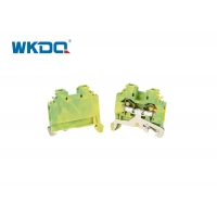 282-107 Wire Spring Type Terminal Block Connectors IEC 60947-7-1 Ground For Distribution Cabinet Stable Performance Manufactures