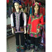China Chinese folk art crafts--YI Minority Peaple's clothes for women & man suits on sale