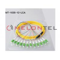 Quality Fiber Optic Patch Network Cable - Fiber Optic for Network Device ,  Patch Panel - Patch Cable 12 core LC APC for sale