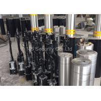Car Entrance Hydraulic Bollards , Retractable Parking Bollards System Manufactures