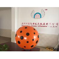 Logo printing promotional Inflatable Dot Ball 3m DIA WITH Air pump Manufactures