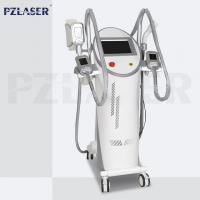 4 Handpieces Lipolysis Fat Freezing Machine Vacuum Cavitation System High Efficiency Manufactures