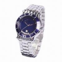Metal Wristwatch with Charm, Luxurious and Quartz Types Manufactures