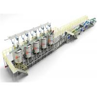 Continuous Sterilizing Retort Food Production Line Vertical For Canned Food Manufactures