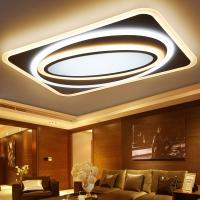 Dimmable ultra-thin modern led ceiling lights for living room bedroom Remote control (WH-MA-106) Manufactures