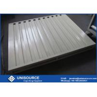 China Durable Stackable Warehouse Steel Pallet Corrosion Resistant For Logistics on sale