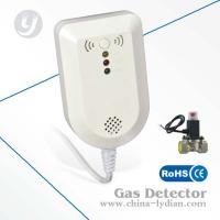 240V Gas Detector Alarm With Shut Off Valve / Plug-in Gas Detector Manufactures