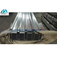 China Anti Corrosion Galvanised Corrugated Steel Roofing Sheets SGCC SGCH Shockproof on sale