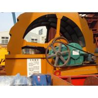 China grave 5mm wheel sand washing machine 50TPH with gear box and simens motor on sale