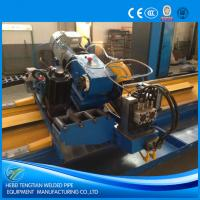 High Speed Flying Cut Off Saw 100m / Min Without Burr 12m Cutting Length Manufactures