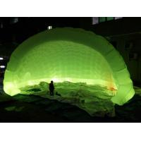 Semicircle With Color Changing Lights Inflatable Party Tent For Activities Manufactures