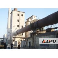China Active Lime Rotary Kiln Cement Plant for Lime Production Line , 30kw Kiln Equipment on sale