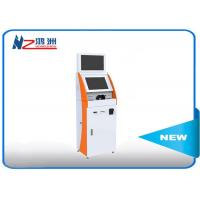 32 Inch Floor Stand Self Ordering Kiosk With Bill Acceptor / Self Service Restaurant Kiosk Manufactures