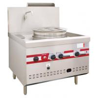 Gas Steaming Stove Commercial Single Dim Sum Steamer 950 x 1050 x (810+450)mm Manufactures