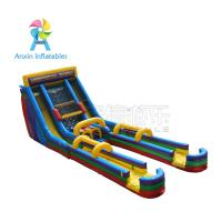 Quality Awesome event/party rentals Super children Inflatable Colorful Slide For Sale for sale
