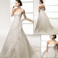 Strapless Sweetheart Wedding Dress F022 Manufactures