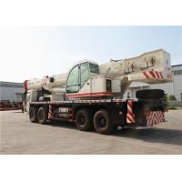 FAW 150s Extending Time 70 Ton Truck Crane Flatbed Truck With Crane Manufactures
