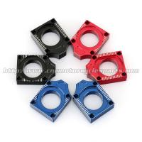 Aluminum Alloy Axle Blocks For Yamaha YZF 250 450 Motocross Accessory Manufactures