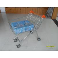 Buy cheap Low Carbon Zinc Plated clear coating Steel UK Shopping Cart 100L from wholesalers