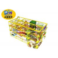 Weather Resistant Indoor Obstacle Course Equipment For Children 5 - 14 Years Age Manufactures