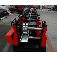 Quality Automatic Purlin Roll Former , Pre - Cutter Adjusted C Purlin Machine Export to for sale