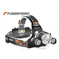 Quality 30W Powerful 3000LMs 3T6 CREE Outdoor Bicycle Led Headlamp Camp Headlight for sale