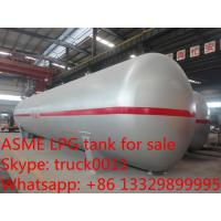 ASME standard 40tons CLW brand lpg gas storage tanks for sale, best price 100,000L propane gas storage tank for sale Manufactures