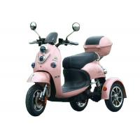 Alloy Wheel Electric Three Wheel Motorcycle Cargo Tricycle Motor Long Rang Folding Manufactures