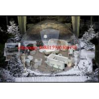 transparent tent camping , inflatable bubble tree tent for rent , bubble balloon tent Manufactures