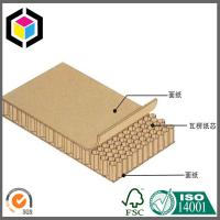 High Quality Double Sided Brown Kraft Honeycomb Board; Honeycomb Panel Manufactures