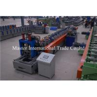 6 stations Auto Punching C Purlin Roll Forming Machine For Construction Material Manufactures
